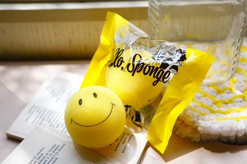 Hello!SMILE SPONGE!!